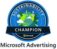 Microsoft Sustainability Champion badge